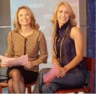 Stylist Alison Deyette and Amy Robach