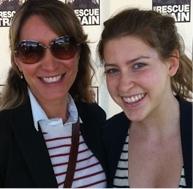 Host Alison Deyette and Eden Shur