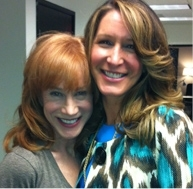 Kathy Griffin And Stylist Alison Deyette