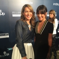 Lea Michele and Style Expert Alison Deyette