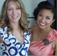 Stylist Alison Deyette and  Jeannie Mai