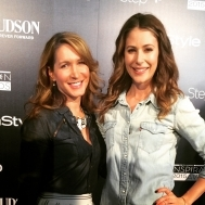 Amanda Crew and Stylist Alison Deyette
