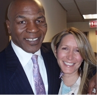 Alison Deyette and Mike Tyson