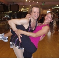 Alison Deyette and Richard Simmons