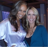Tyra Banks and Celerity Stylist Alison Deyette