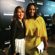 Garcelle Beauvais and Stylist Alison Deyette