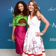 Thandie Newton and Stylist Alison Deyette