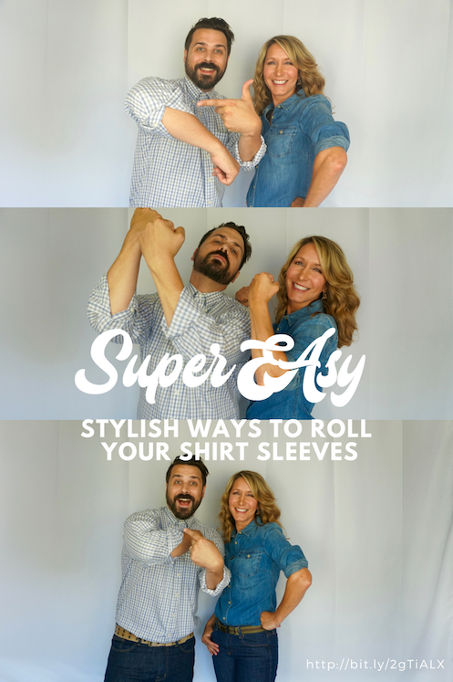 Stylish Ways to Roll Your Shirt Sleeves