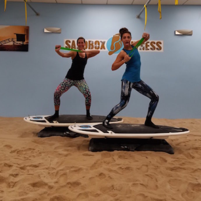 TRX and Surfset Workout with Resistance Bands