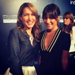 Lea Michele and Alison Deyette