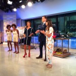 Alison Deyette, Vanessa Williams and Willie Geist