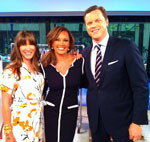 Alison Deyette with Vanessa Williams & Willie Geist