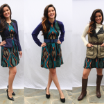 Stylist Alison Deyette styles 1 dress 3 ways