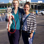 Jane Lynch and Style Expert Alison Deyette at Race for The Rescues