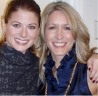 Debra Messing and Style Expert Alison Deyette