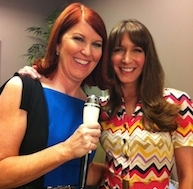 Kate Flannery and Style Expert Alison Deyette