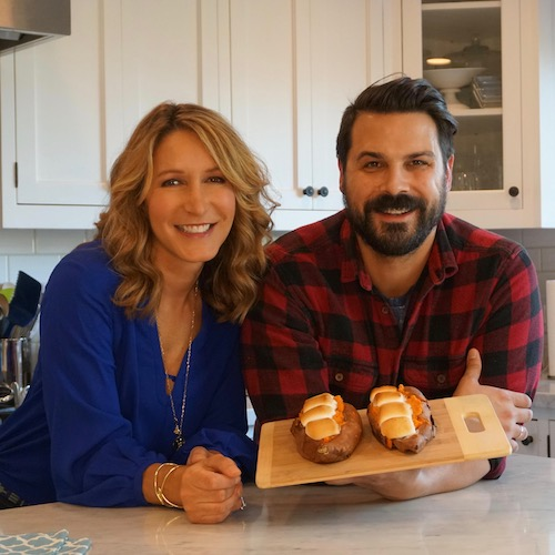 Lifestyle expert Alison Deyette and Jesse Brune-Horan