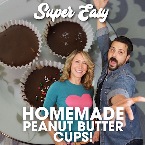 Super Easy Delicious homemade peanut butter cups