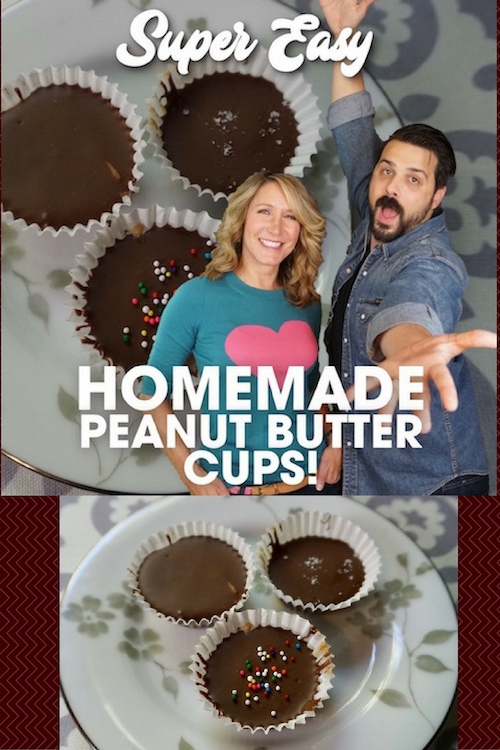 Super easy peanut butter cups