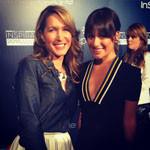 Lea Michele and Alison Deyette